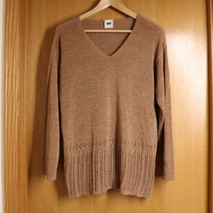 🌲 Vintage Copper 90s Woven DKNY Sweater Wmn's L